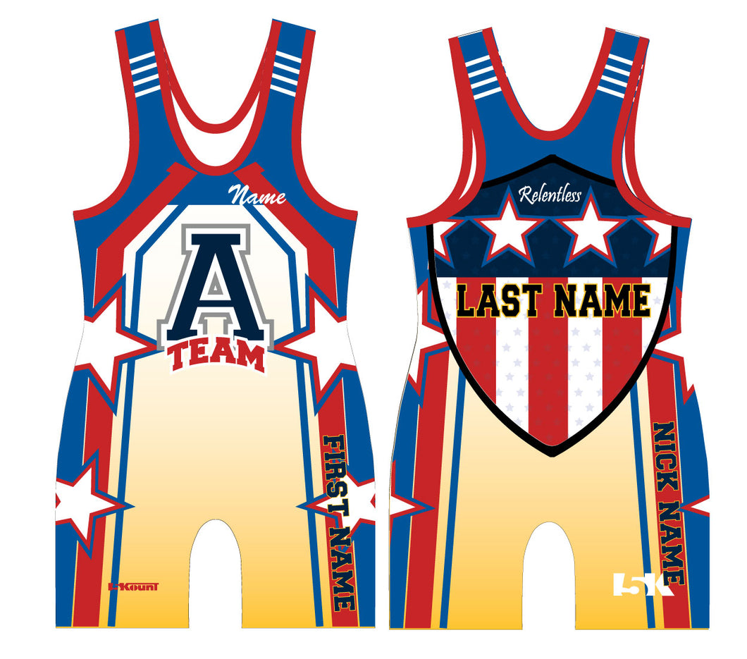 ATEAM National Gear Sublimated Singlet - 5KounT
