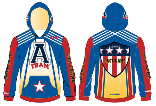 ATEAM National Gear Sublimated Hoodie - 5KounT2018