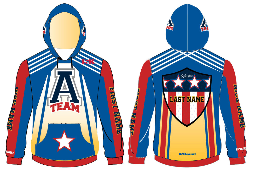 ATEAM National Gear Sublimated Hoodie - 5KounT