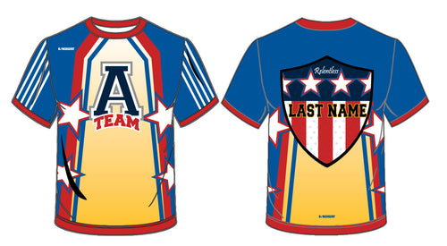 ATEAM National Gear Sublimated Fight Shirt - 5KounT2018