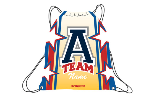 ATEAM National Gear Sublimated Drawstring Bag - 5KounT2018