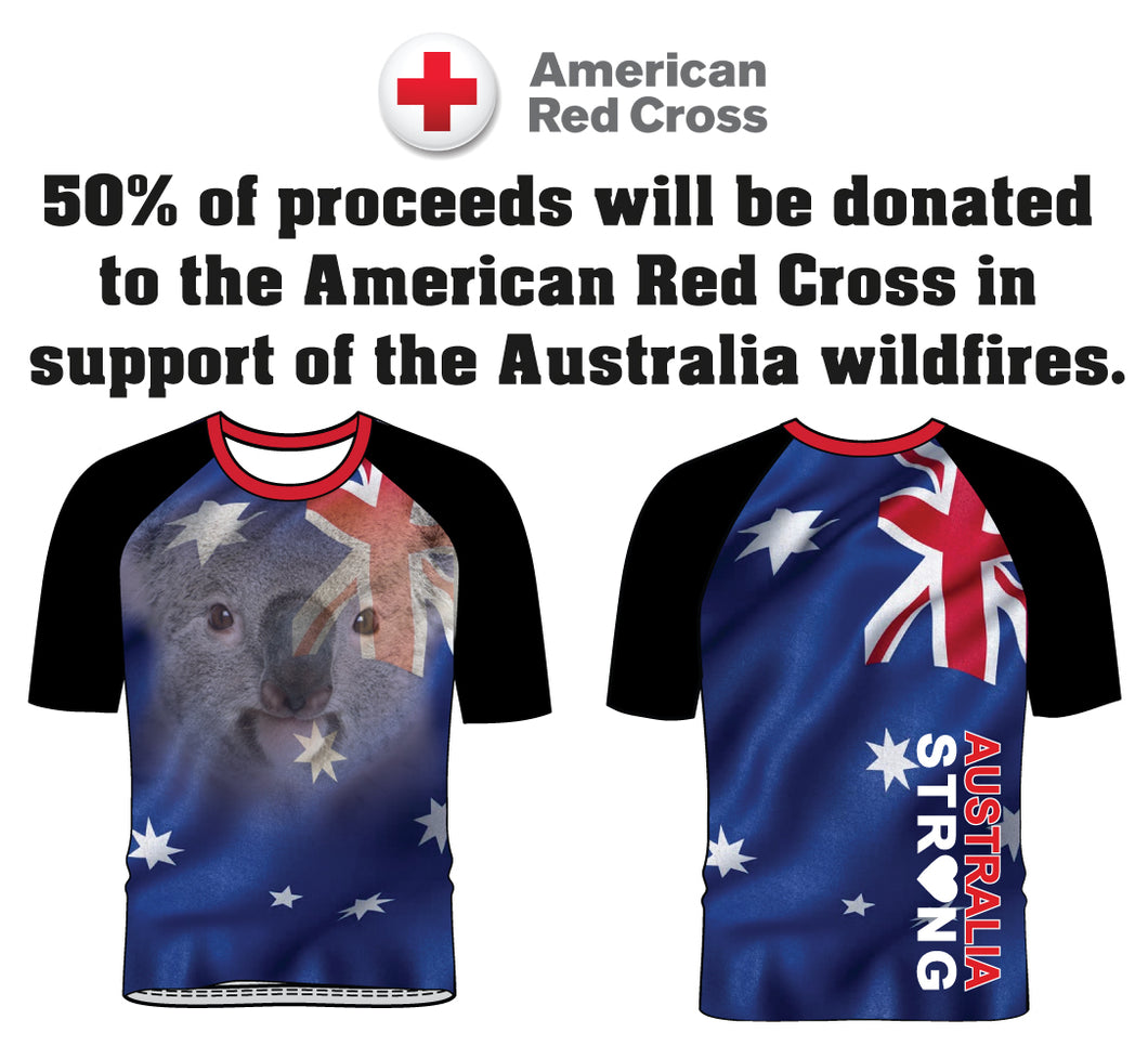 Australia Strong Collection Sublimated Fight Shirt