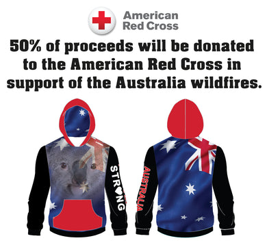 Australia Strong Collection Sublimated Hoodie