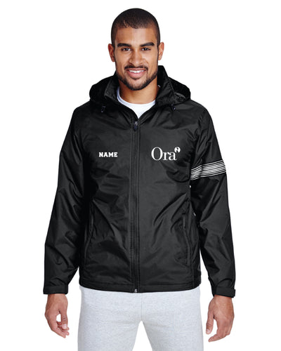 Ora Clinical All Season Hooded Jacket - Black - 5KounT2018