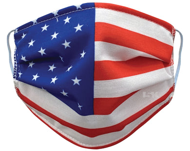 American Flag reusable facemask