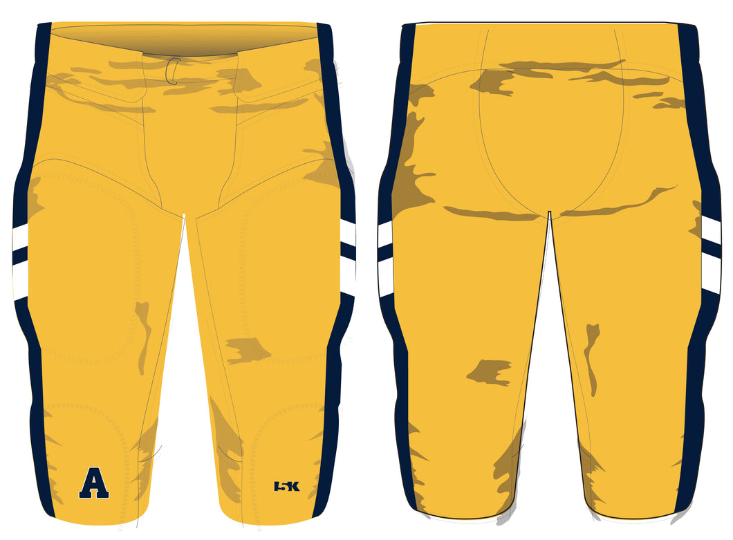 Andover Warriors Football  League Sublimated Pants