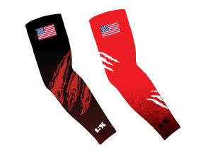 Wildcat Football Sublimated Arm Sleeves