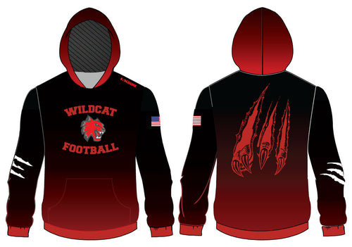 Wildcat Football Sublimated Hoodie