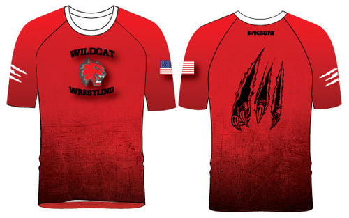 Wildcat Wrestling Sublimated Fight Shirt