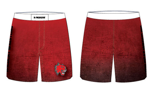 Wildcat Wrestling Sublimated Fight Shorts
