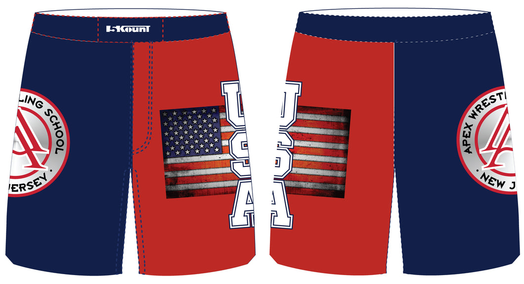 APEX Freestyle - USA Fight Shorts