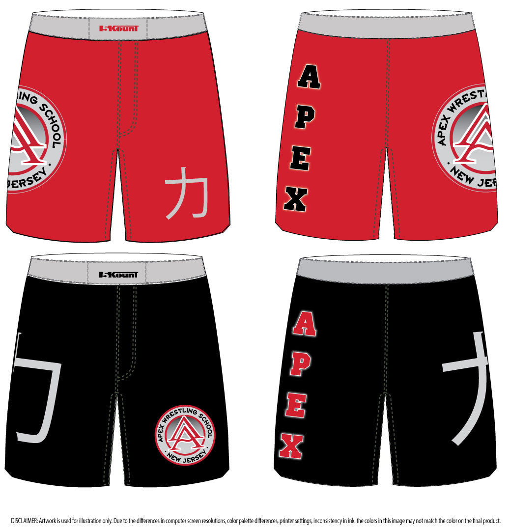 APEX SUBLIMATED SHORTS