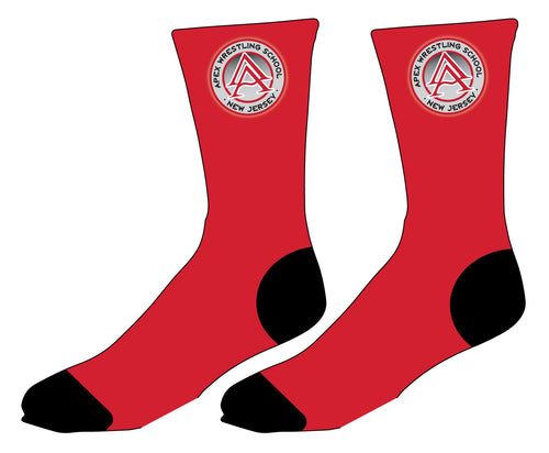 APEX Wrestling 2017 Sublimated Socks