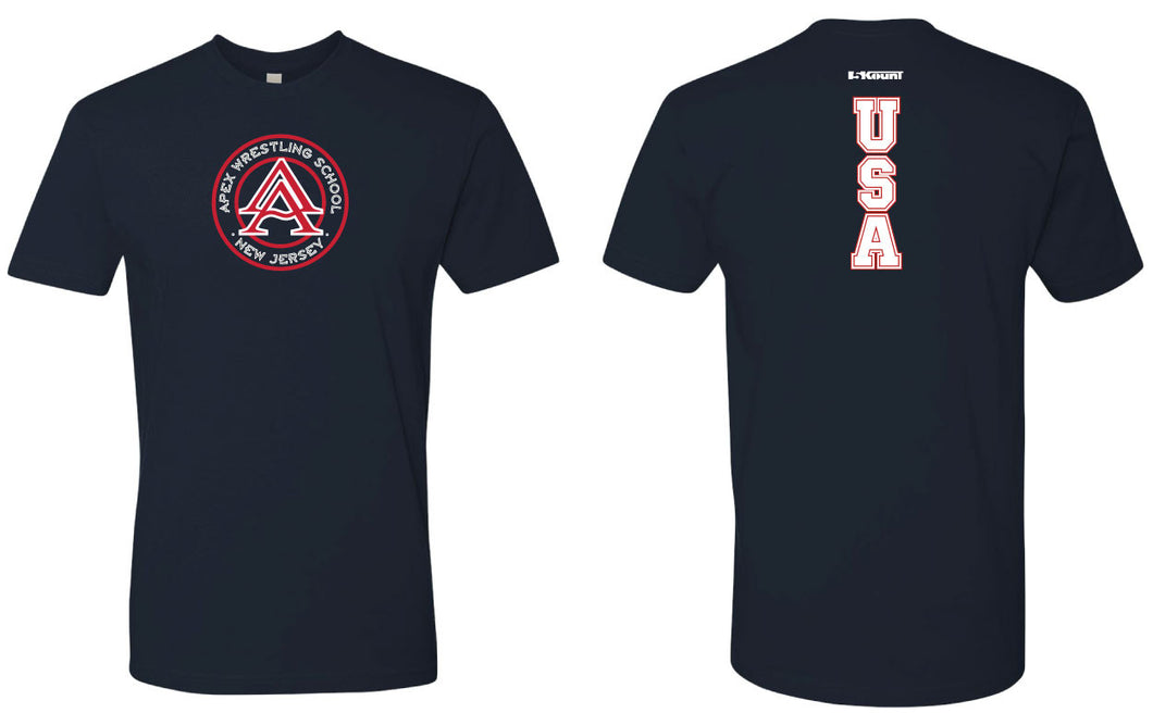 APEX Freestyle - USA Crew Cotton Tee
