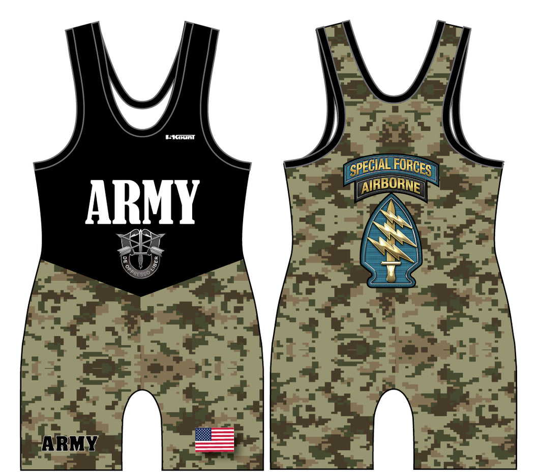 Army Singlet Special Forces - 5KounT2018