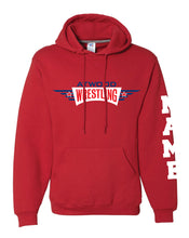 Atwood Cotton Hoodie - Red/Oxford - 5KounT