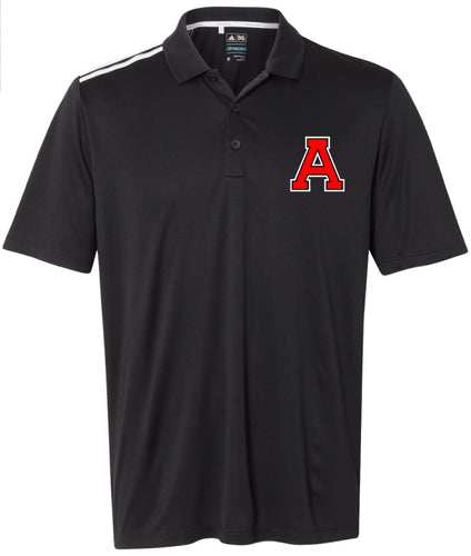 Avery HS Athletics Men's Adidas Polo - Black