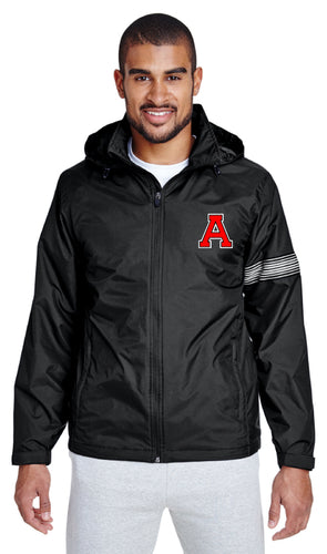 Avery HS Athletics All Season Hooded Jacket - Black