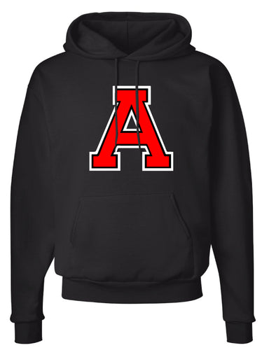 Avery HS Athletics Cotton Hoodie - Black