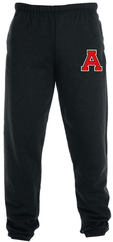 Avery HS Athletics Cotton Sweatpants - Black