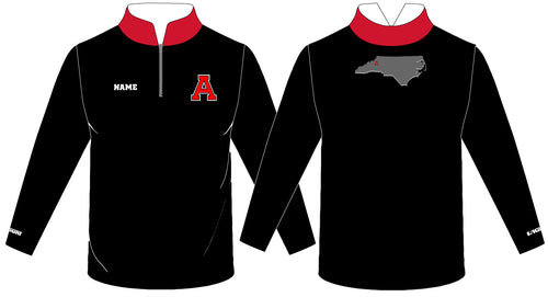 Avery HS Athletics Sublimated Quarter Zip