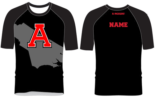 Avery HS Athletics Sublimated Raglan Shirt