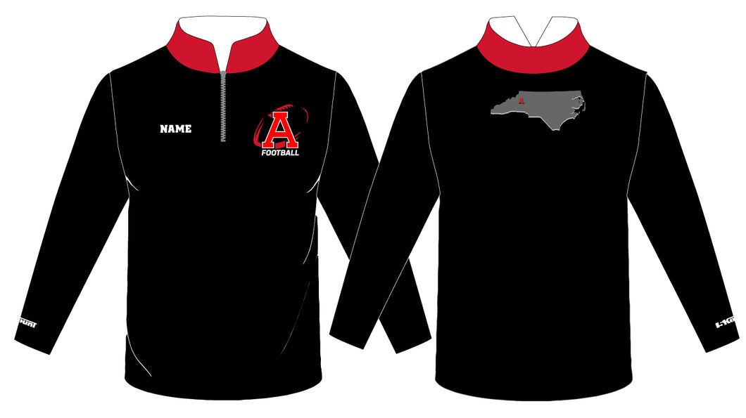 Avery HS Football Sublimated Quarter Zip