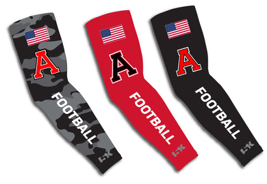 Avery HS Football Sublimated Compression Sleeves