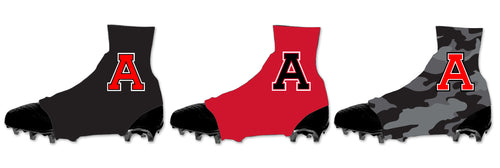 Avery HS Football Sublimated Spats (Cleat Covers)