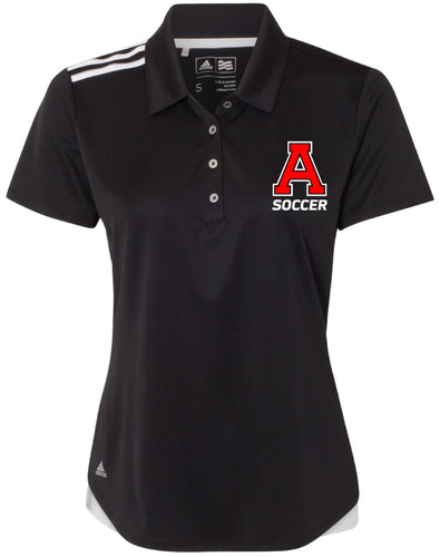 Avery HS Athletics Ladies' Adidas Polo - Black