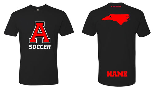 Avery HS Soccer Cotton Crew Tee - Black