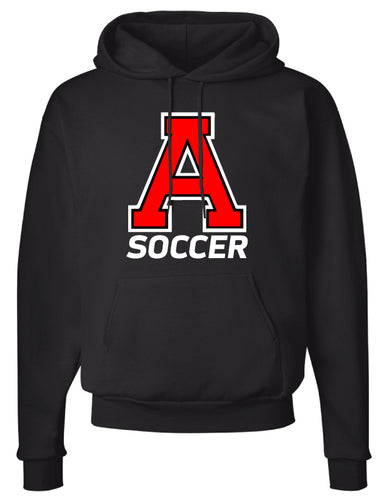 Avery HS Soccer Cotton Hoodie - Black