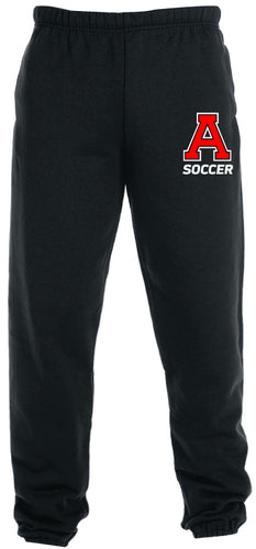 Avery HS Soccer Cotton Sweatpants - Black