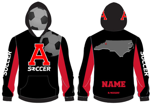 Avery HS Soccer Sublimated Hoodie - 5KounT