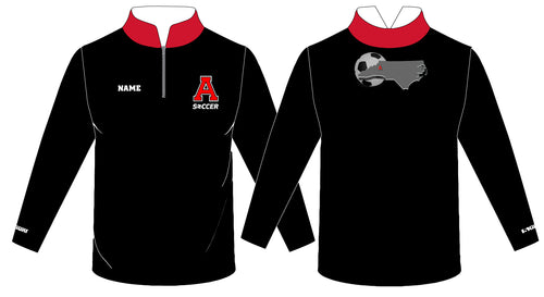 Avery HS Soccer Sublimated Quarter Zip