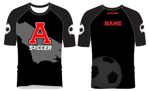 Avery HS Soccer Sublimated Raglan Shirt