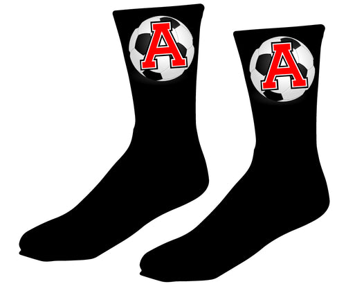 Avery HS Soccer Sublimated Socks