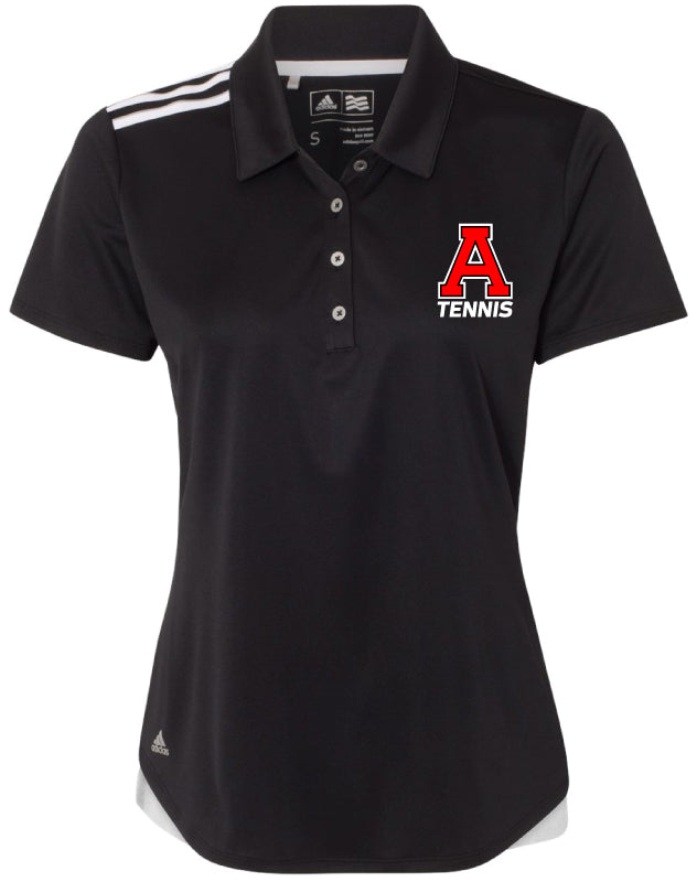 Avery HS Tennis Ladies' Adidas Polo - Black