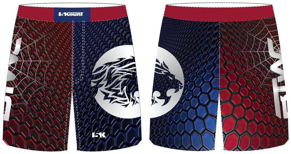 Bitetto Trained Sublimated Fight Shorts - Freestyle