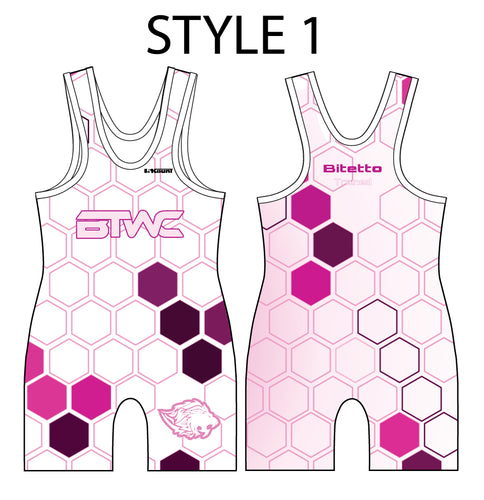 Bitetto Trained Digital Hex Sublimated Men's Singlet - Styles 1-5 - 5KounT2018
