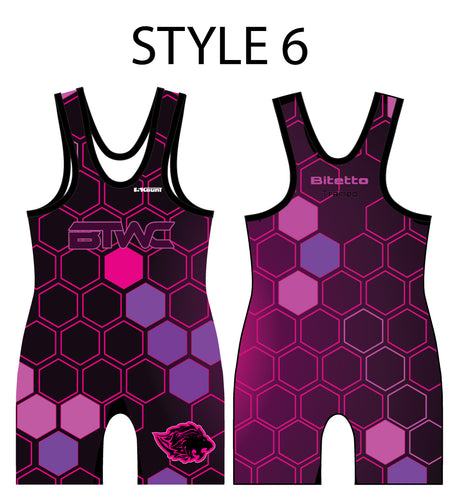 Bitetto Trained Digital Hex  Sublimated Men's Singlet - Styles 6-10 - 5KounT2018