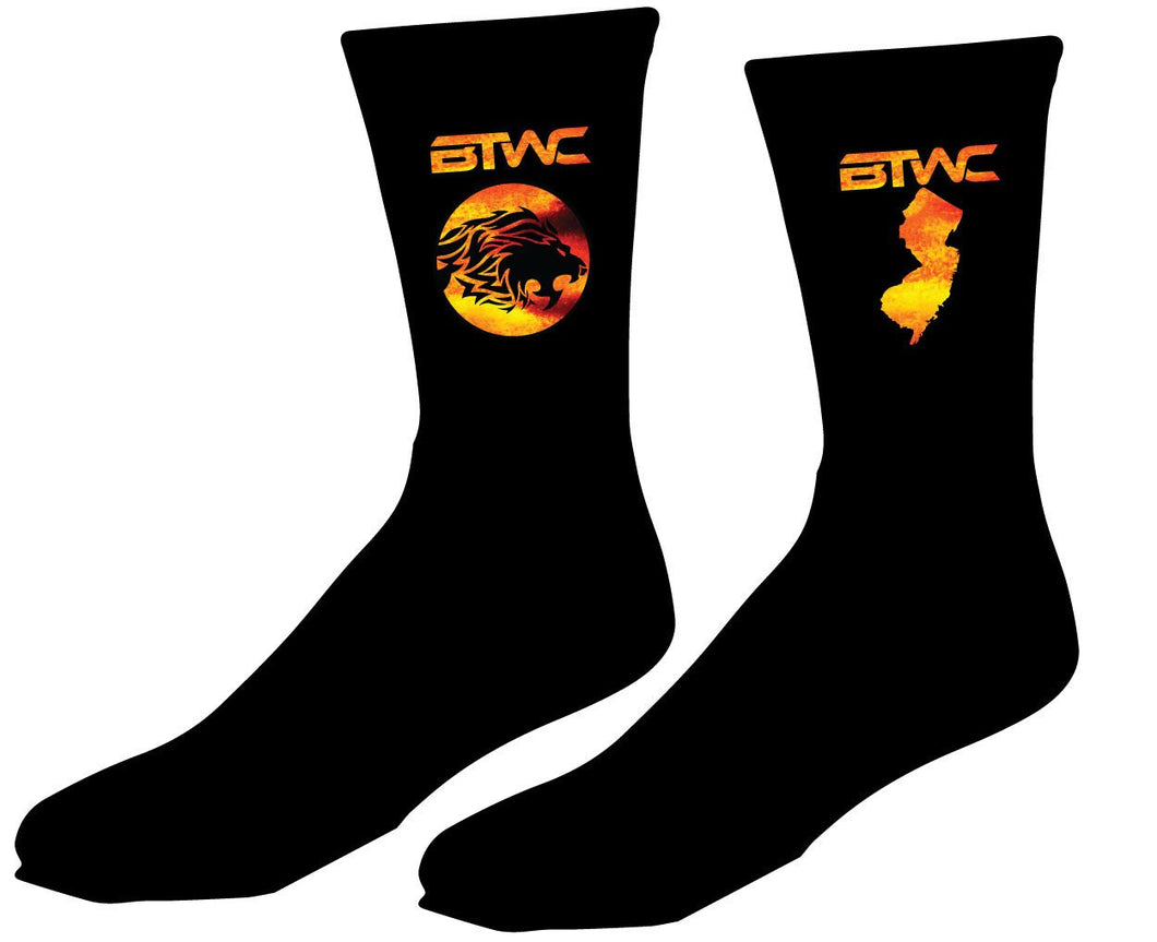 Bitetto Trained Sublimated Socks - 5KounT