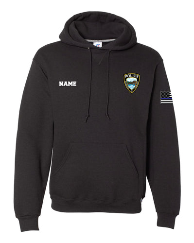 BTPD Russell Athletic Cotton PD Hoodie - Black - 5KounT2018