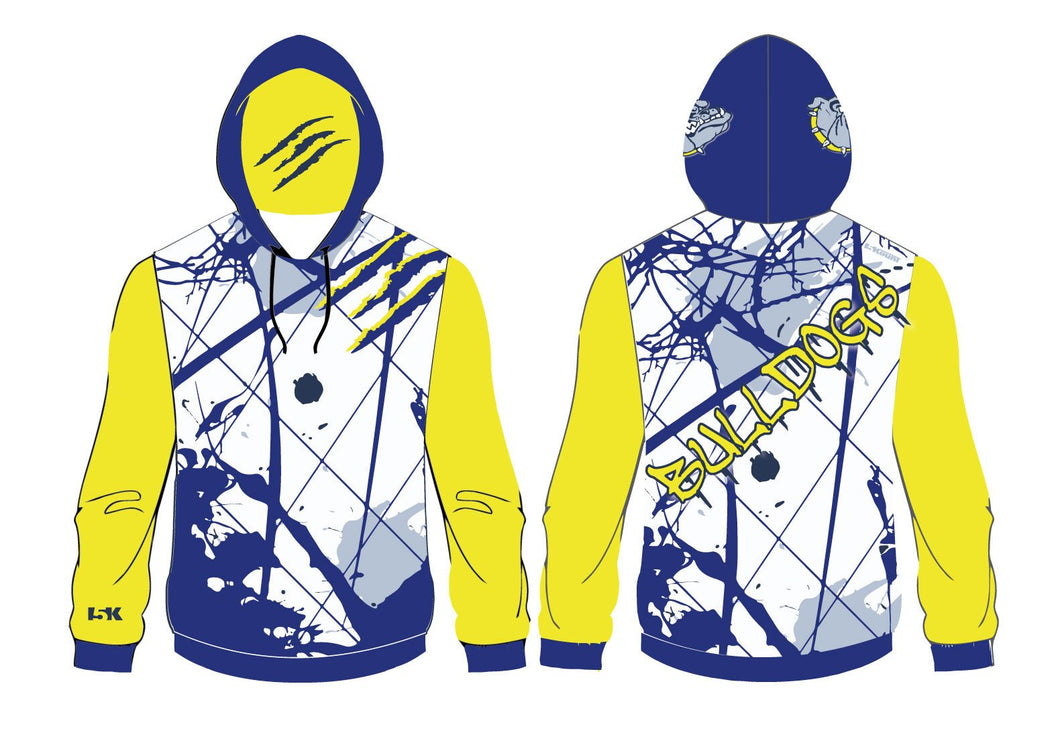 Bulldogs Wrestling Sublimated Hoodie