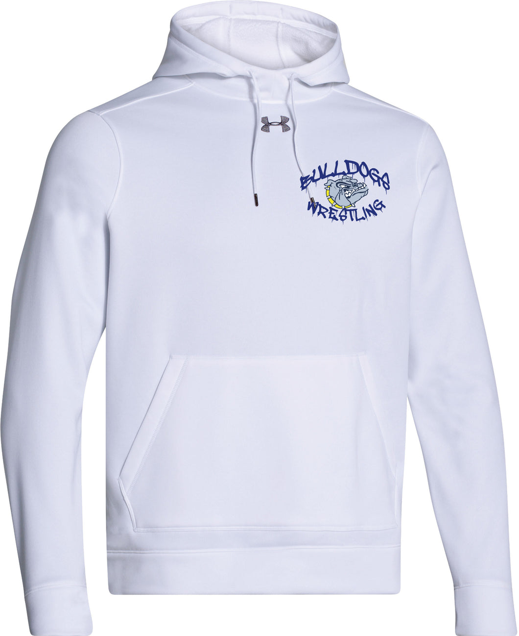 Bulldogs Wrestling Under Armour Fleece Hoody