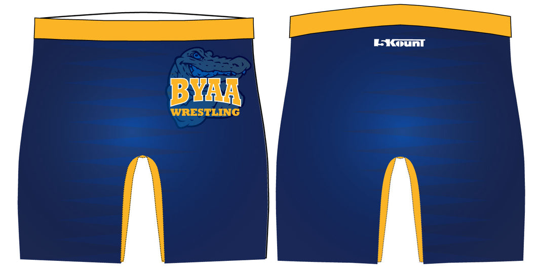 BYAA Sublimated Compression Shorts - 5KounT2018
