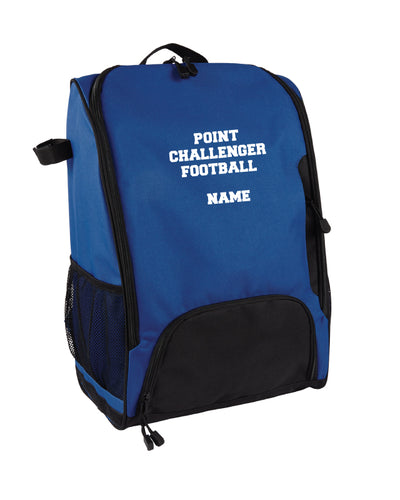 Challenger Football Backpack -  Royal - 5KounT2018
