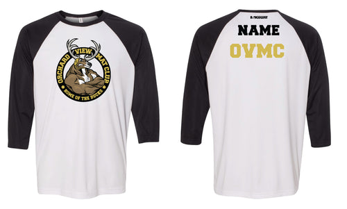 OVMC Baseball Shirt - White/Black