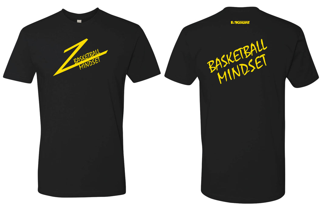 Basketball Mindset Cotton Crew Tee
