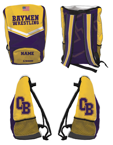 Baymen Wrestling Sublimated Backpack - 5KounT2018